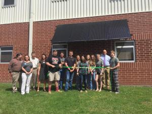 JOHNSTON CITY HIGH SCHOOL RIBBON CUTTING